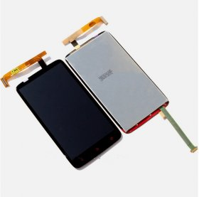 New LCD LCD Display Touch Screen Panel Glass Digitizer Lens Assembly Replacement HTC One X