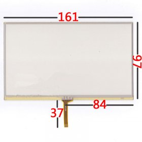 "7.0 inch Touch Screen Panel 161x97mm Handwritten Screen Panel for 7"" GPS and MP4 MP5"