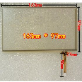 "7.0 inch Touch Screen Panel for WM8650 7.0"" Tablet PC AT070TN92 163x97mm"