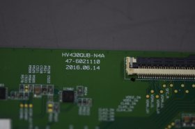 "Original HV430QUB-N4A Board For BOE Screen Panel 43"" 3840*2160 HV430QUB-N4A PCB LCD Motherboard"