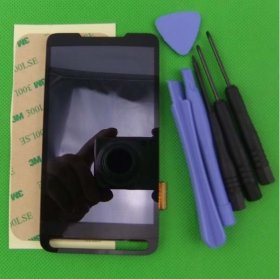 "New 4.3"" LCD LCD Display with Touch Screen Panel Digitizer Replacement for HD2 T-Mobile T8585"