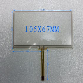 4.3 inch Touch Screen Panel Handwritten Touch Screen Panel 105mmx67mm for MP4 GPS avigraph