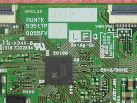 Original Replacement RUNTK 5351TP ZA ZZ Sharp 0055FV ZA ZZ Logic Board