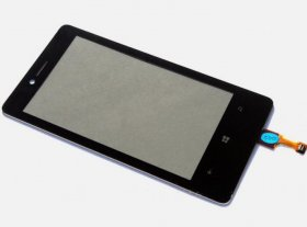 Brand New Digitizer Touch Screen Panel Glass Replacement For Nokia Lumia 810
