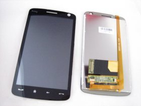 New LCD LCD Display Screen Panel+Touch Screen Panel Digitizer Replacement for HTC Touch HD T8282